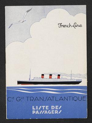 French Line – Compagnie Générale Transatlantique