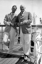 Thomas B. Lockwood and Daniel L. Rumsey on the S.S. Paris