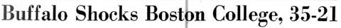 Buffalo Shocks Boston College, 35-21