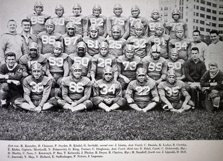 1954 Buffalo Football