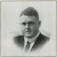 Dan Mellen 1914 U.B. baseball captain