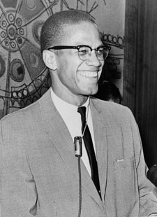 Malcolm X - 1964 Library of Congress Photo