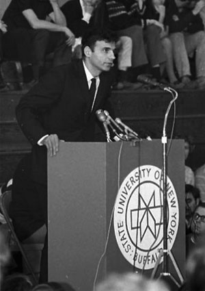 Ralph Nader - University at Buffalo - Earth Day 1970