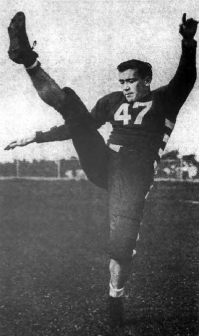 Bud Henry, 188 pound junior quarterback for the University of Buffalo.