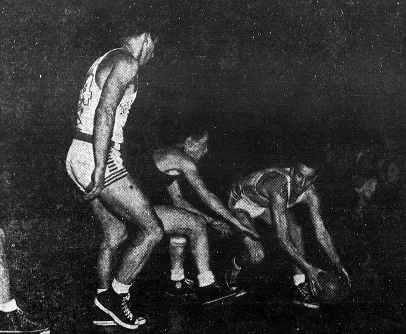 Buffalo vs. Grove City College - February 24, 1949.