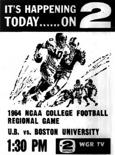 1964 NCAA College Football Regional Game - U.B. vs. Boston University