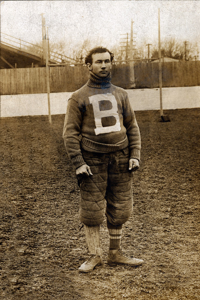 Peter McPherson, University at Buffalo football halfback, 1899 season.