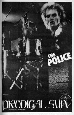 Prodigal Sun / The Spectrum, January 25, 1980