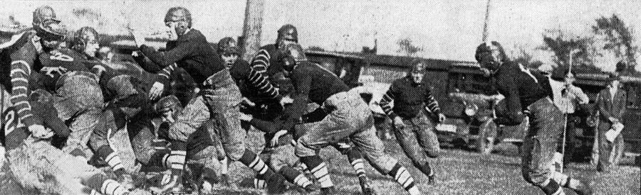Buffalo vs. Westminster on October 4, 1924.