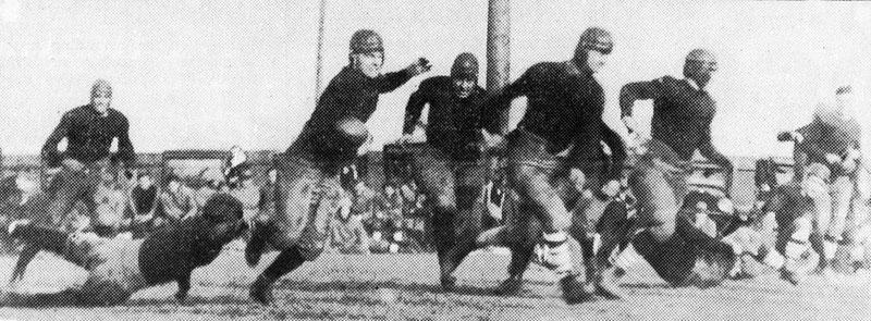 Buffalo vs. St. Lawrence on October 18, 1924.