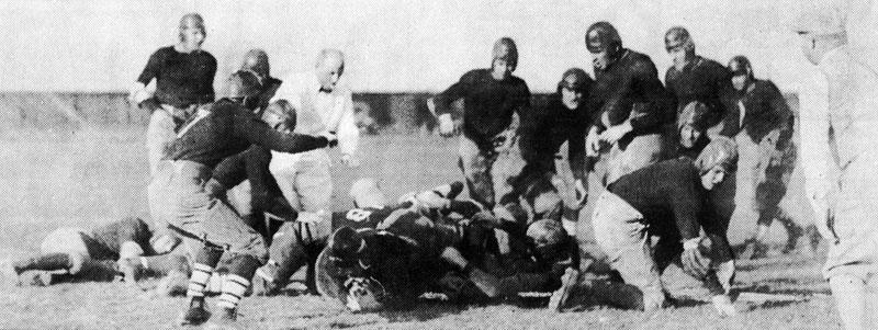Buffalo vs. Clarkson on November 1, 1924.