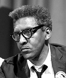 Bayard Rustin - August 1963 - Library of Congress photo