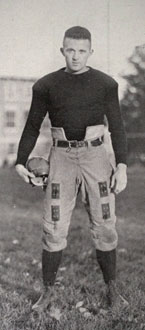 Lester Knapp - Buffalo Team Captain - 1924