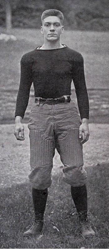 Russ Carrick - Buffalo Football Coach - 1924