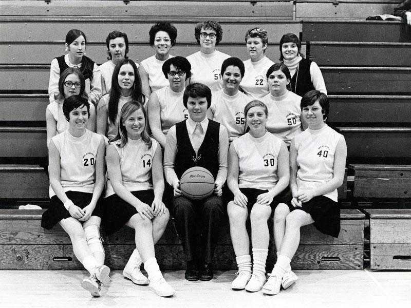 1970-1971 Buffalo Bulls Womens Basketball