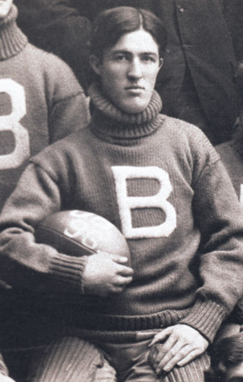 Irving R. Johnson, Early U.B. Football & Hockey Star