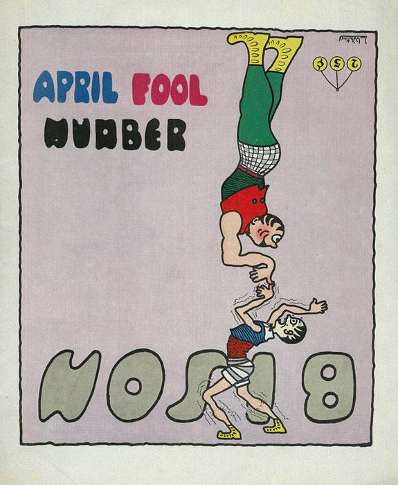 """""""April Fool Number"""" - Bison Magazine"""