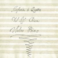 Sinfonia á quattro : Part no. 1 : Violin 1<br />