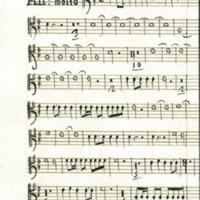 Sinfonia a quatro : Part 1 : Trumpet 1<br />